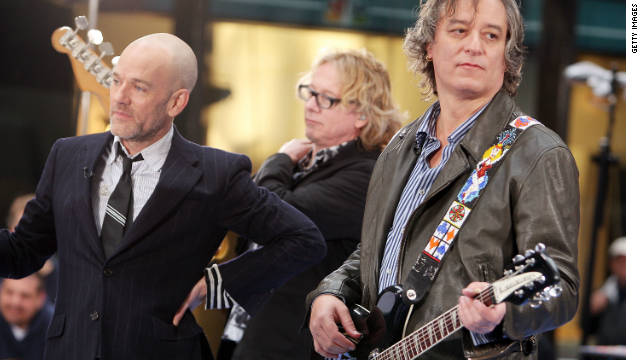R.E.M. blasts Trump's retweeting video that uses 'Everybody Hurts' to mock Democrats