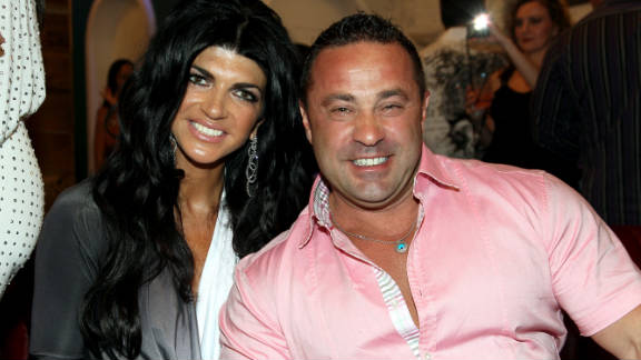 Joe Giudice said that he and his wife, Teresa, were targets because of their notoriety from the Bravo reality show.