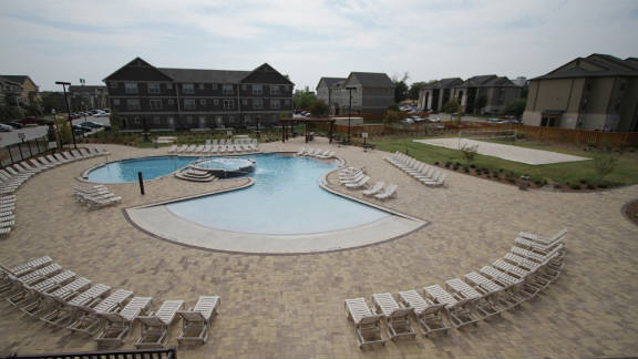 The Retreat claims to have the largest saltwater pool in the city.
