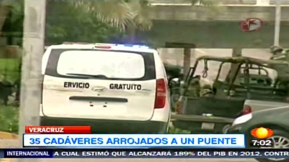 Eleven more bodies were discovered in Veracruz, Mexico, days after 35 bodies were found on a busy road.