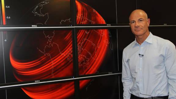 Geosciences professor Omar Ghattas used supercomputers to track the global impact of last spring's Japanese earthquake.