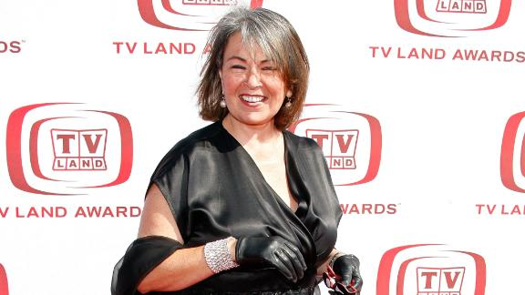 Roseanne Barr arrives to the 2008 TV Land Awards