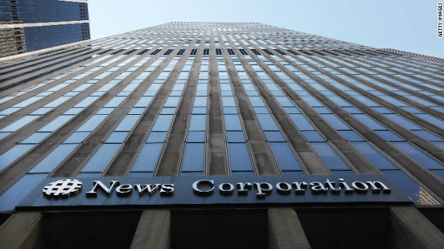 The headquarters of News Corporation in Manhattan, New York.