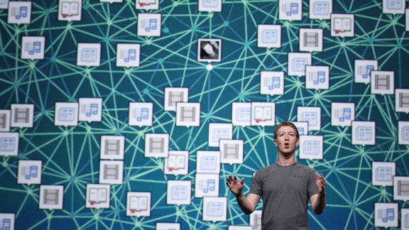"""Facebook announced a new class of """"real-time"""" apps on Thursday at an event in San Francisco."""
