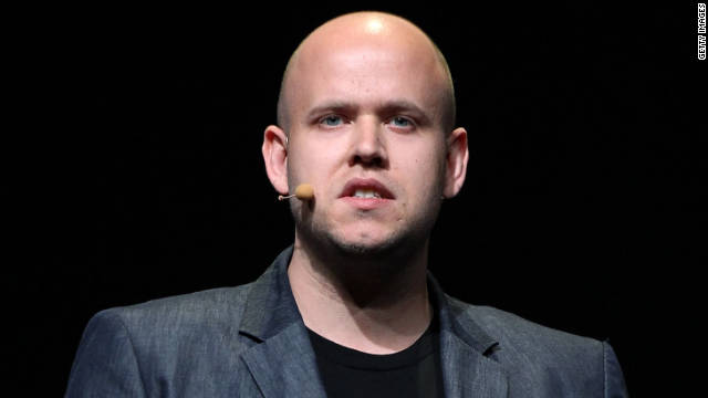 "Spotify CEO Daniel Ek admits, ""I've started becoming a bit of a vinyl buff so I actually listen to vinyl."""