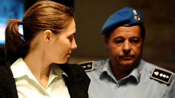 Lawyers for Amanda Knox and Raffaele Sollecito suggested Rudy Guede could have been the sole killer.