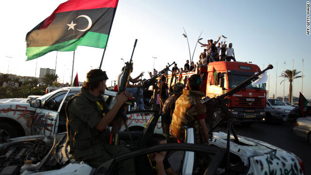 Libya's National Transitional Council says the country is not yet fully liberated.