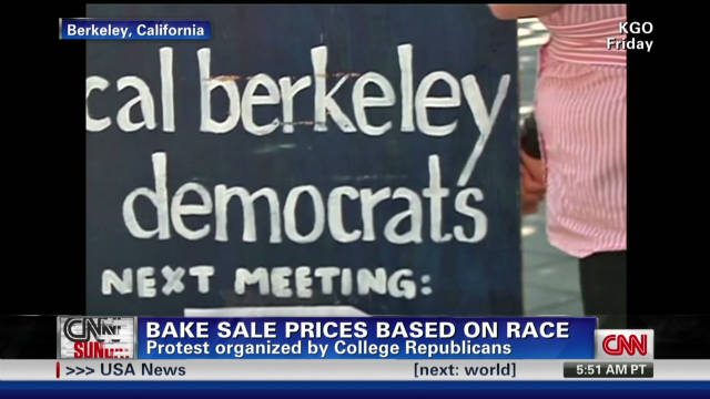 Bake sale prices based on race
