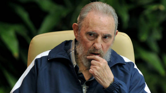 Ex-Cuban leader Fidel Castro, seen here on April 19, 2011, has been largely silent in the last few months.