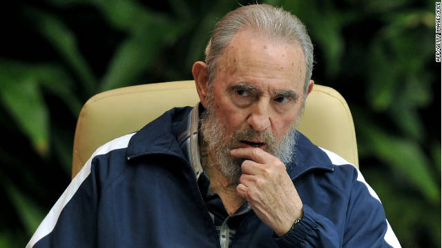 Ex-Cuban leader Fidel Castro, seen here on April 19, 2011, has been largely out of view in the last few months.
