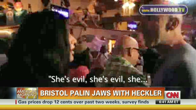 Bristol Palin vs. heckler