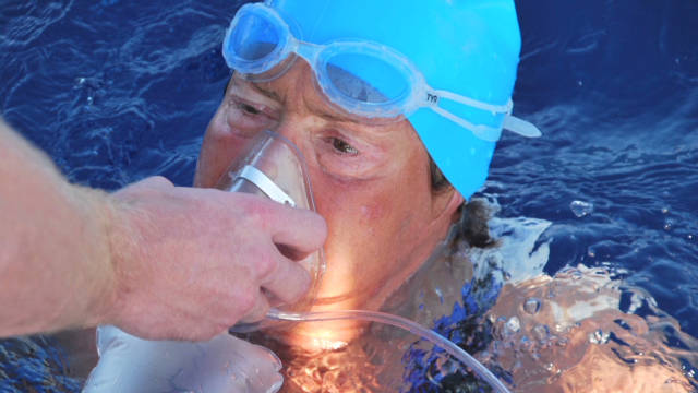 Third time not charm for Diana Nyad