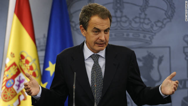 Spain's Prime Minister Jose Luis Rodriguez Zapatero will not seek a third term.