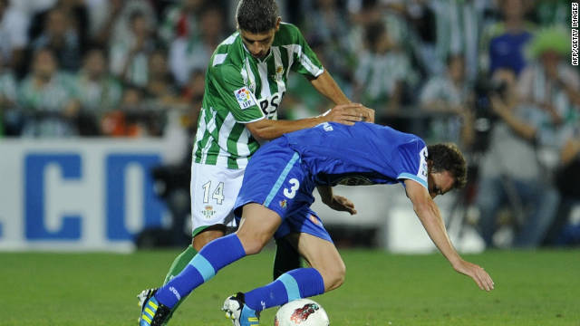Real Betis missed the chance to go four points clear at the top of La Liga after losing 1-0 to Getafe