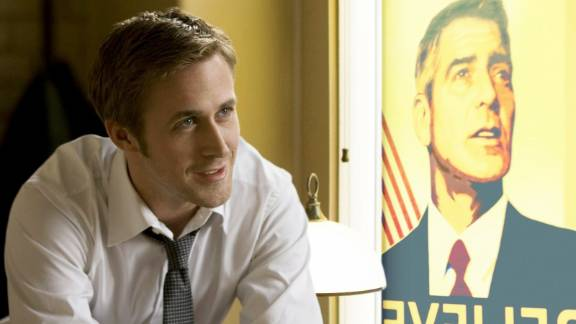 """<strong>""""The Ides of March""""</strong> stars Ryan Gosling and George Clooney. The political drama, is based on Beau Willimon's """"Farragut North"""" -- about the 2004 Democratic primary."""