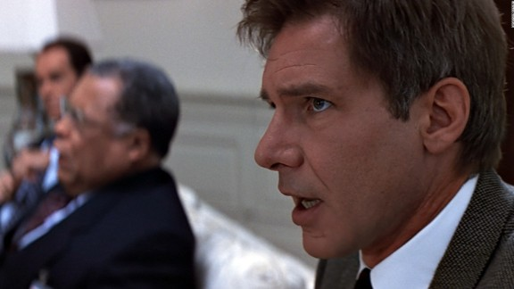"""Based on the book of the same name, """"<strong>Clear and Present Danger""""</strong> features Harrison Ford's Jack Ryan as the CIA deputy director. Ryan soon finds out that members of the CIA aren't to be trusted."""