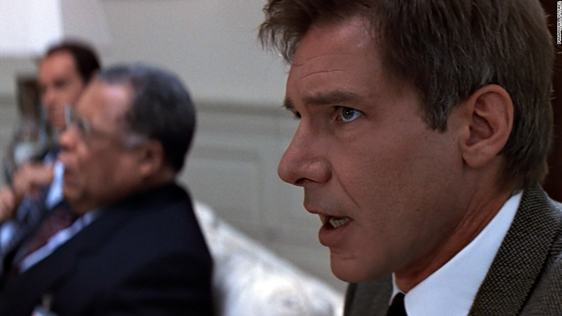 "Based on the book of the same name, ""<strong>Clear and Present Danger""</strong> features Harrison Ford's Jack Ryan as the CIA deputy director. Ryan soon finds out that members of the CIA aren't to be trusted."