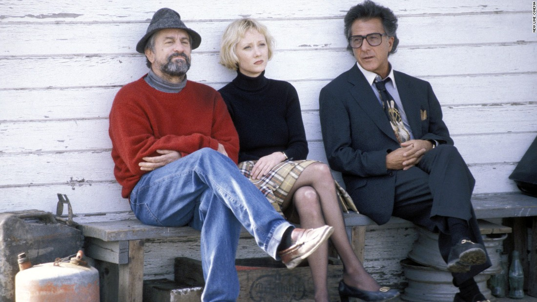 "Dustin Hoffman and Robert DeNiro team up in <strong>""Wag the Dog"" </strong>as a producer and spin doctor who create a fake war with Albania to distract the public from a presidential scandal. This dark comedy is a creative look at the manipulation of the mass media in politics."
