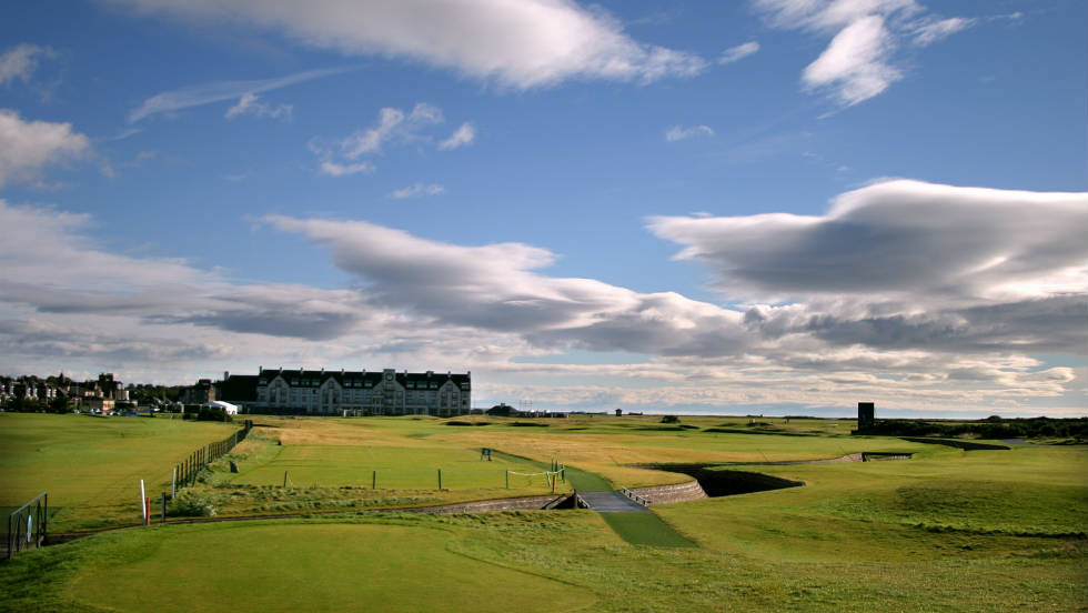 Carnoustie, a regular British Open venue, completes up the trio of courses on which professionals and amateurs compete.