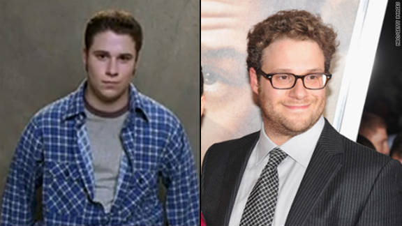 """Seth Rogen's latest film, """"50/50"""" -- a dramedy based on screenwriter Will Reiser's battle with cancer -- hits theaters Friday. Rogen, who plays Kyle in the flick, hasn't stopped making us laugh since he started out on the short-lived cult series """"Freaks and Geeks."""" The series, which ran for one season on NBC, helped kick-start a few careers:"""
