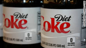 when was aspartame used in diet coke