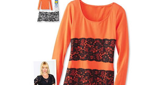 Lacy t-shirt, inspired by Mena Suvari.