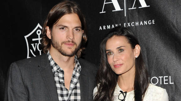 Demi Moore said she plans to divorce Ashton Kutcher. The couple began dating in 2003 and married in 2005.