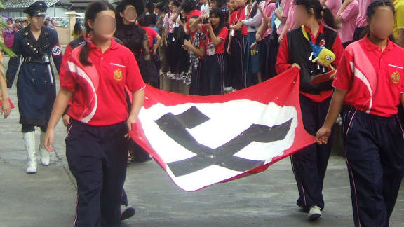 The Simon Wiesenthal Center, a Jewish human rights organization, said the event glorified Nazis.