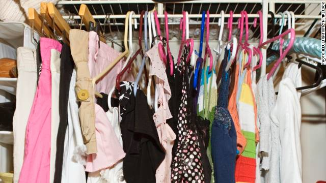 Clear the clutter from your coat closet and you'll have more space for the things you need.