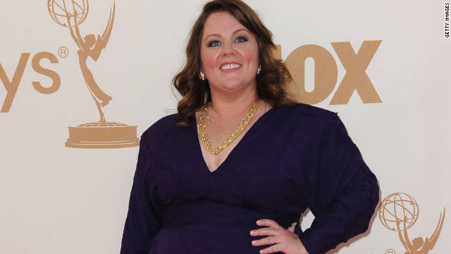 """What I wear or how I look I can't control, so I just try not to give too much energy to it,"" Melissa McCarthy says."