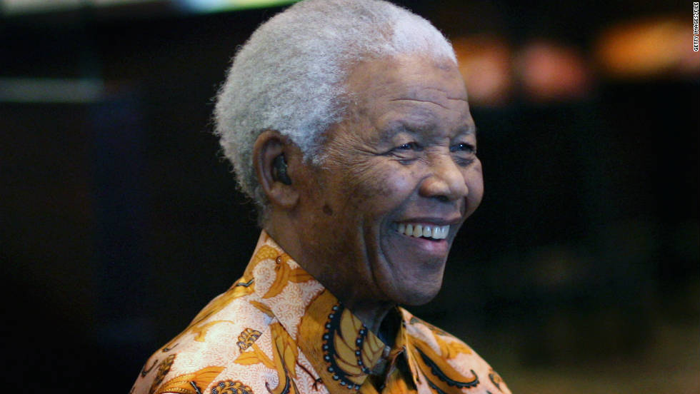 Which African do you most admire? Is it former South African president and anti-apartheid campaigner Nelson Mandela, who was jointly awarded the Nobel Prize for Peace in 1993?