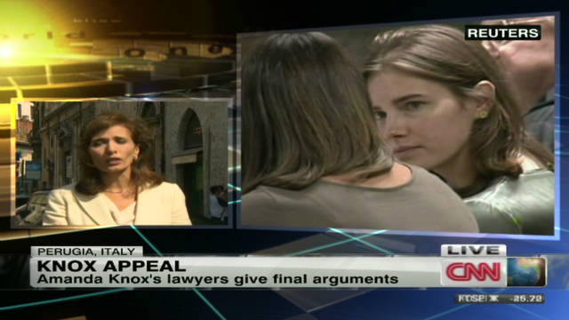 Final arguments in Amanda Knox appeal