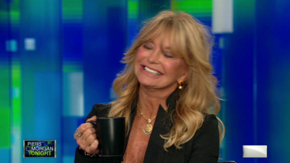 """Although she first became famous for her iconic persona on TV's """"Laugh-In,"""" Goldie Hawn is nothing like the ditsy woman she portrayed. The actress is a reported member of Mensa and recently published a book on raising children."""