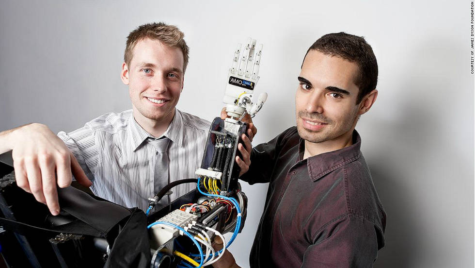 "CANADA: ""AMO Arm"" is a ""targeted muscle re-innervation surgery alternative which uses brainwaves to move a specially developed prosthetic limb"