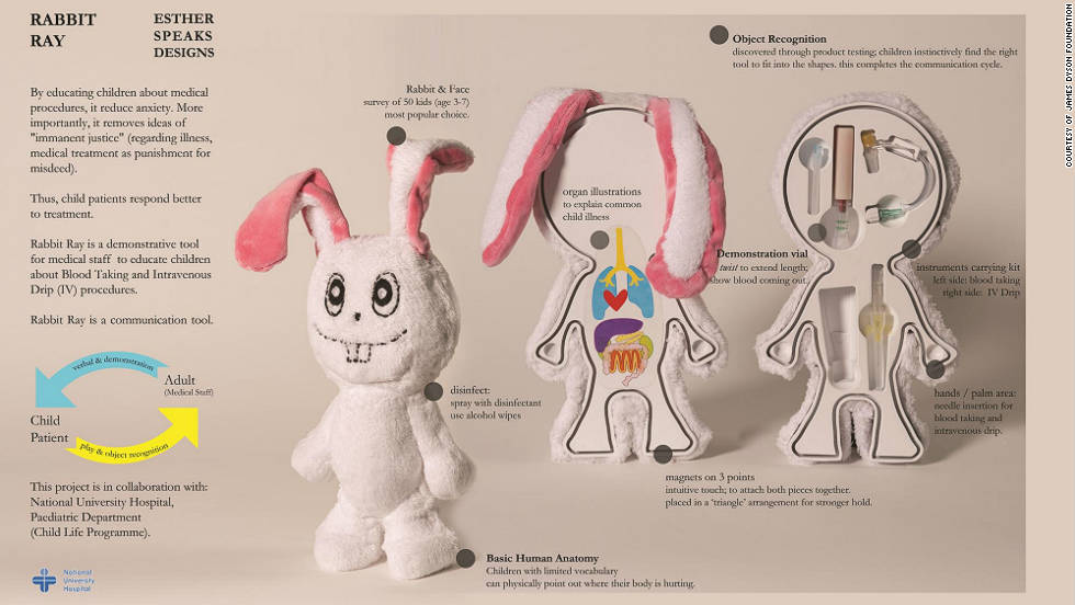 "SINGAPORE: ""Rabbit Ray"" has been designed to help explain medical procedures to children in a bid to reduce anxiety"