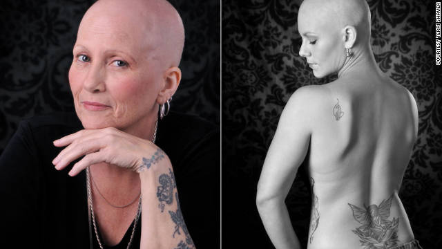 Denise Acker, left, died at age 55 from lung cancer. Heather Allen, right, died September 3 after her fight with leukemia.