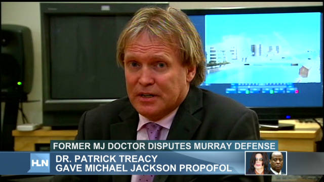 Jackson's doctor admits propofol use