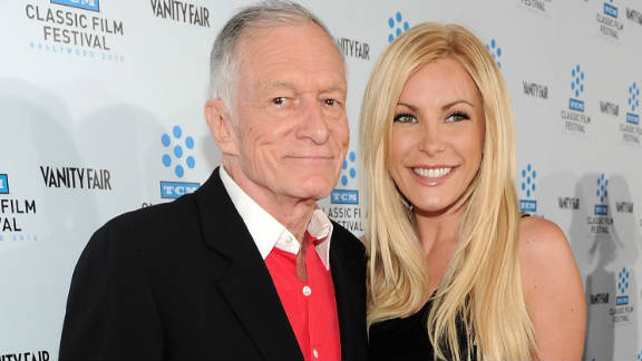 After a much publicized break-up and reconciliation, Crystal Harris, 26, finally got her man when she married Playboy founder Hugh Hefner, 86, on New Year's Eve. But she's not the first blonde to capture his heart in recent years.