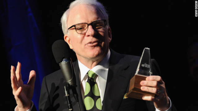 Steve Martin Wins Bluegrass Award -- No Joke