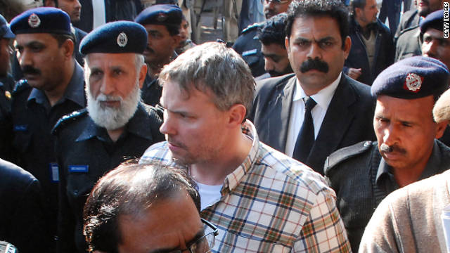 Raymond Davis, seen here in a January 2011 photo, killed two men in Lahore last year.