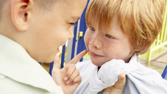 """Working with children on their confidence level at an early age can help """"bully-proof"""" them."""