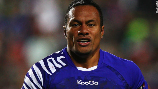 Eliota Fuimaono-Sapolu played in all four of Samoa's Pool D matches.