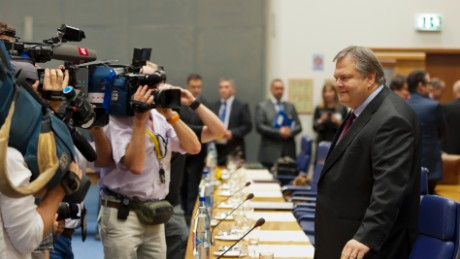Greek Finance Minister Evangelos Venizelos  announces in 2011 his country would miss its deficit targets.
