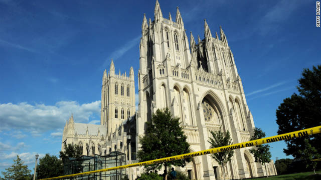 The National Cathedral in Washington has been closed since a 5.9-magnitude earthquake shook the region in August.