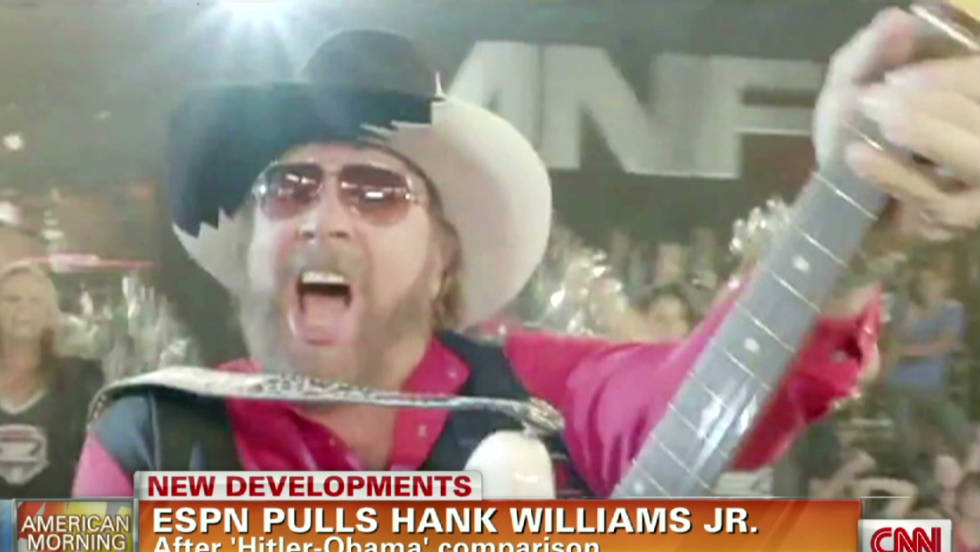 Lyric are you ready for some football lyrics : Monday Night Football' intro pulled after Hank Williams Jr ...