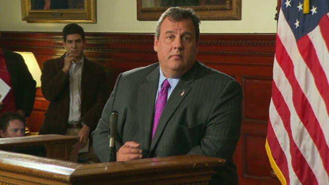 Christie out of 2012 field