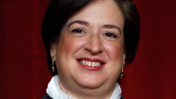 Justice Elena Kagan was the administration