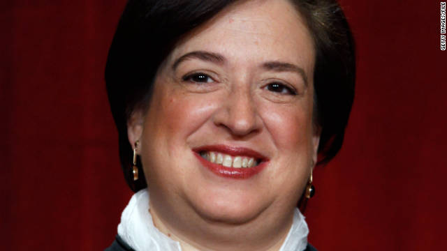 Justice Elena Kagan, the newest member of the Supreme Court, committed a mild faux pas in court Wednesday.
