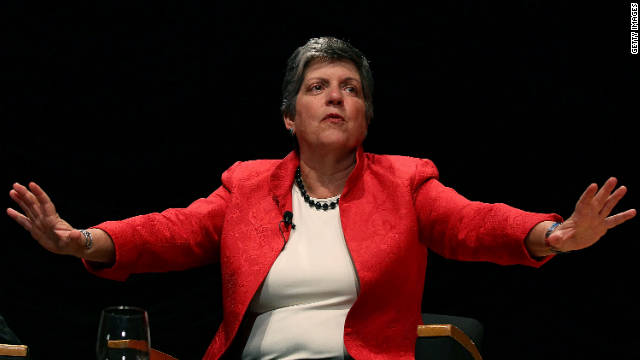 Homeland Security Secretary Janet Napolitano says more convicted criminals are being deported.