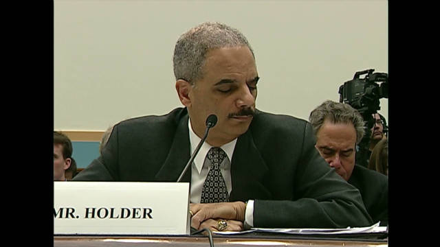 When did Holder know?
